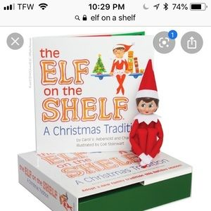 Other - NEW Elf On A Shelf with book box set